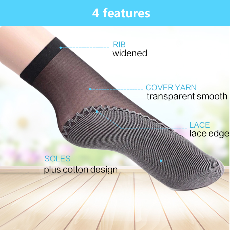Woman Socks Elastic Short Wear-Resistant Ankle Sock 5