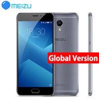 Original Meizu M5 Note M5NOTE 16GB 32GB Global version bluetooth gps Glass 4G cellPhone Helio P10 Octa Core 5.5