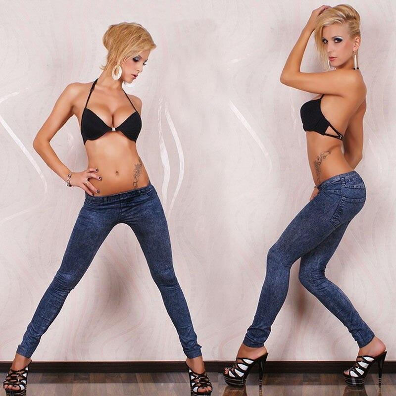 Blue   Jean   Lady Skinny Jeggings Stretchy Slim Pants Plus Size Women   Jeans   Low Waist Denim Pencil Trousers Push Up Vintage Pants