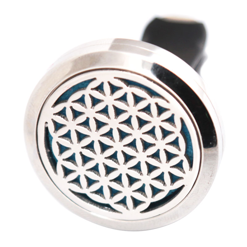 New Design 30mm Diffuser 316 Stainless Steel Car Aroma Locket Essential Oil Car Diffuser Locket Free 50Pcs Pads 30mm yl logo magnet 316 stainless steel car aromatherapy locket free pads essential oil car perfume lockets drop shipping