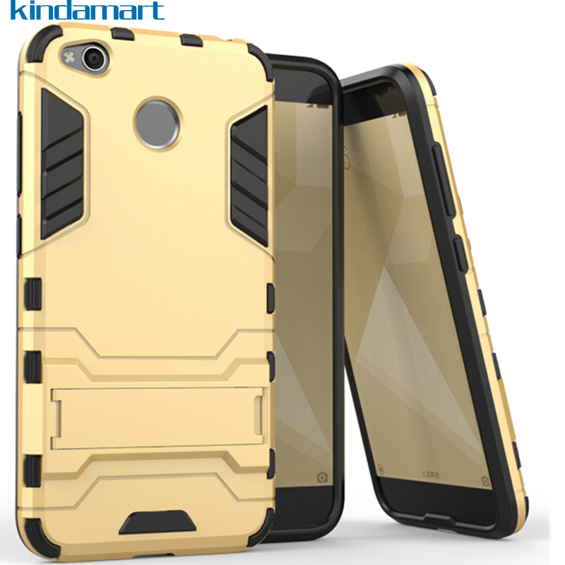 Xiaomi Redmi 4X case stand view holder cover soft bumper grip armor shock protection case for Xiaomi Redmi 4X Pro Redmi 4 X case
