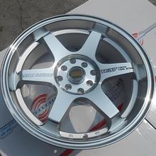 Реплика TE 37 15 дюймов 15x6,5 4X100 4x114,3 5X100 5X112 5X114,3 Автомобильные Колесные диски из сплава