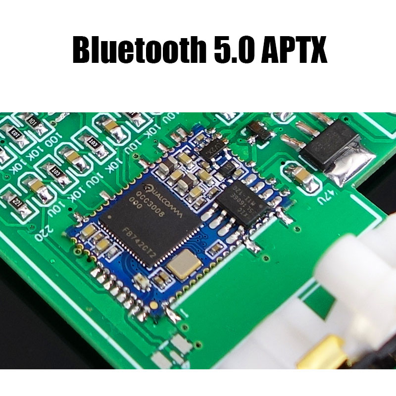 Image 4 - TPA3116D2 Bluetooth 5.0 Amplifier Audio Board 50W*2 Tweeter Bass adjustment Car Home Theater Digital Amplifiers NE5532 With AUX-in Amplifier from Consumer Electronics