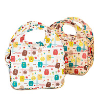 Waterproof Lunch Bag Thermal Cooler Lunch Box Borsa Termica Pranzo HandBag Cartoon Bear Insulation Refrigeration Bento Kids Tote