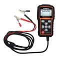 Testador de Bateria de carro 12 V Capacidade Digital Medidor de Tensão Detectar Má Foxwell BT705 100 para 2000CCA Russa Célula de Bateria de Carro língua