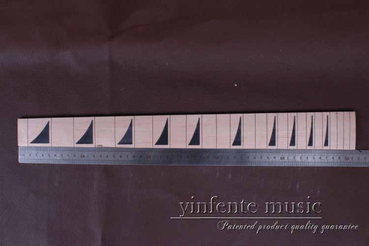 """nový 1 ks 24,75 """"pěkné javorové dřevo Guitar fingerboard Kytarové díly 4 #"""