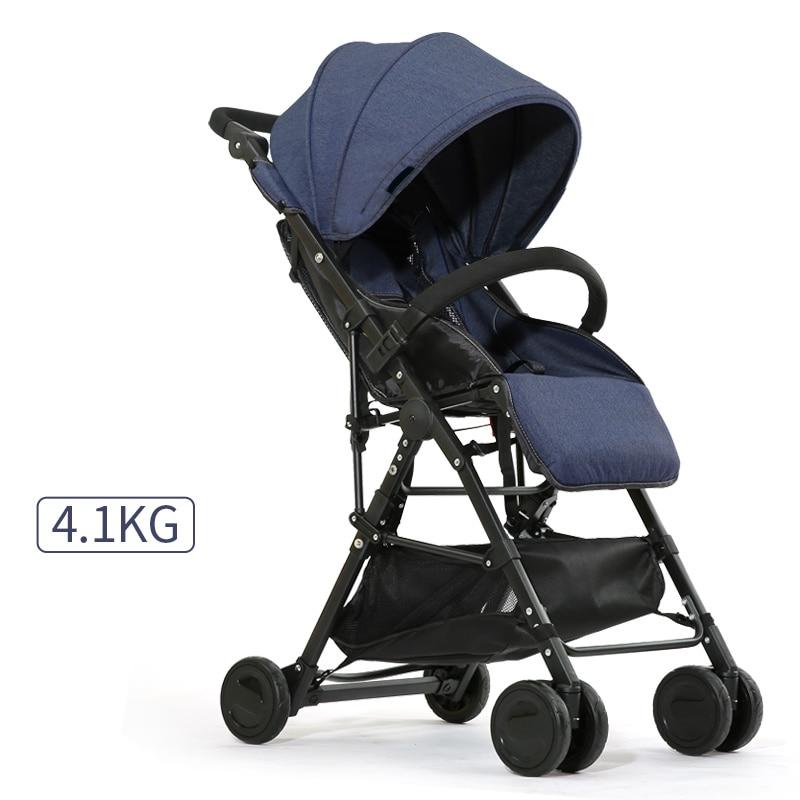 High Quality Lightweight Baby Stroller carrinho Portable Baby Pushchair Sit and Lie Prams For Newborn bebek arabasi BB Strollers