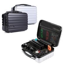 Yoteen sac à main étui de voyage pour Nintendo Switch Dock Console de rangement pour sac à billes sac dur PC coque en plastique pour contrôleur Pro