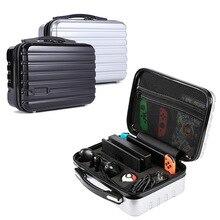 Yoteen saco de mão caso de viagem para nintendo switch dock console armazenamento para poke bola saco rígido pc escudo plástico para pro controlador