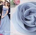 100% шелк пашмины весна сплошной светло-серо-голубой мэрилин монро детские шарф для женщин luxury brand дизайнер магия шарфы