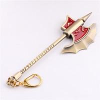 15cm LOL Keychain Olaf The Berserker Ax Online Game LOL Gift And Trinket Key Chain 15cm