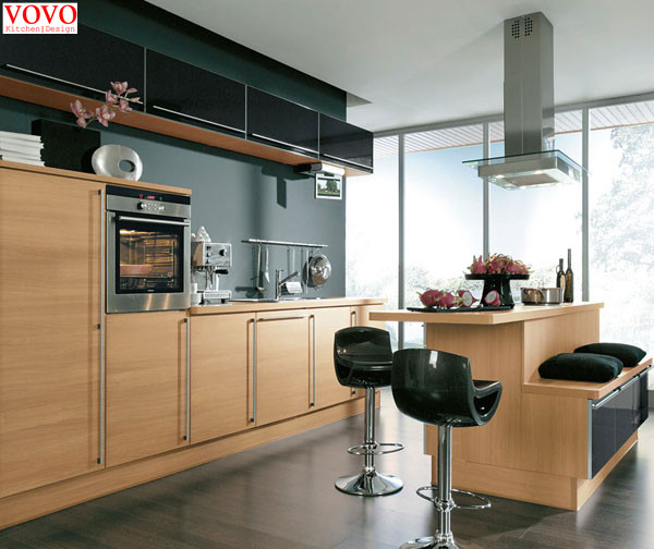 Elegant Melamine Kitchen Cabinets Factory Direct Supply
