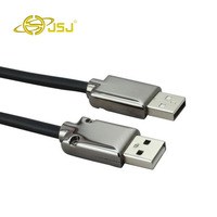 Double Male Usb Cable USB2 0 Data Line Male To Public Mobile Hard Drive Cable Mouse