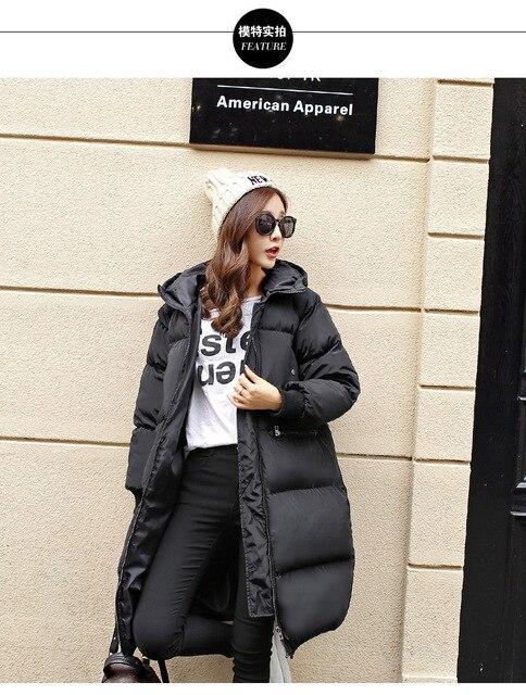 Chaquetas de Invierno para mujer de talla grande abrigos de invierno para  mujer 90% algodón 7008e15b476d