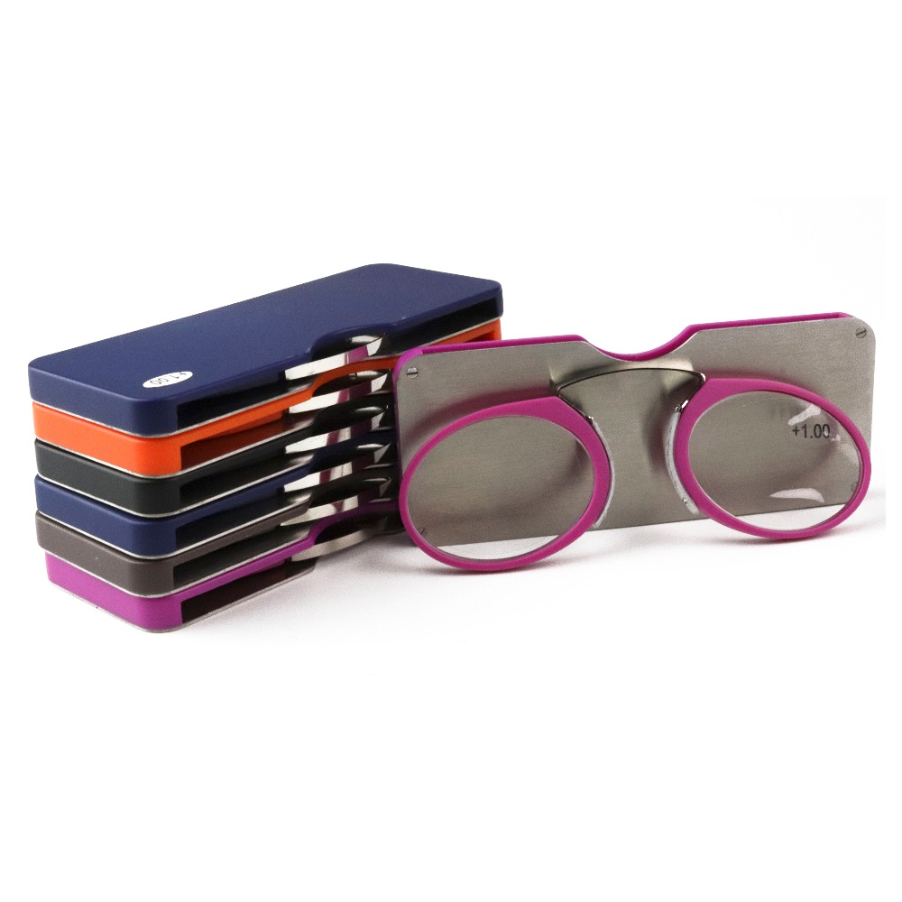 e8bb0d898295 Final Crazy Promotion discount MINI clip nose bridge reading glasses 1.0 to 3.5  Portable Wallet presbyopic glasses with Case -in Reading Glasses from ...