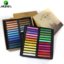 Marie's 12/24/36/48 Colors Soft Masters Pastelfarvet Kalk Tegning Farvefarve Hair Art Supplies