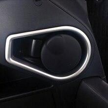 ملحقات علبة سجائر داخلية غير لامعة لسيارة Toyota RAV4 2016 2017 2018 قطعة واحدة