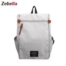 """Zebella Unisex Fashion Rucksack Frauen 15 """"Laptop-tasche Männer Schule Casual Rucksack Oxford Qualität Mochila Bolsa Feminina Kanken Taschen"""