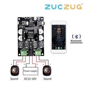 Bluetooth ресивер TDA7492P, усилитель с аудиоплатой, 25 Вт * 2 динамика, модифицированные музыкальные мини-усилители, двухканальный усилитель Diy