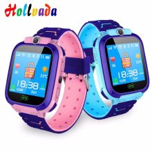 2019 Waterproof Kids Smart Watch SOS Antil-lost Smartwatch Baby 2G SIM Card Clock Call Location Tracker Watch PK Q50 Q90 Q528(China)
