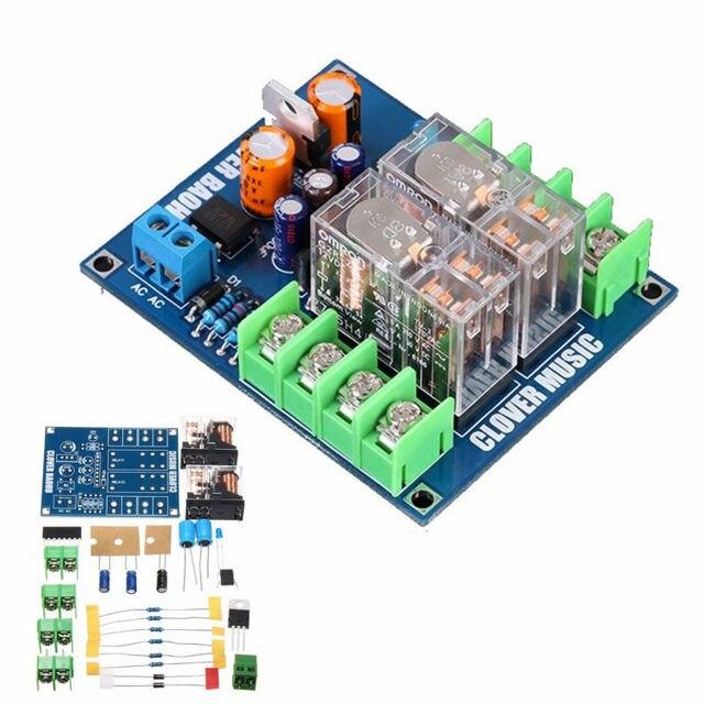 12-24 В Двойной Реле 7812 + UPC1237 Защита Спикер Доска DIY Kit Для HIFI
