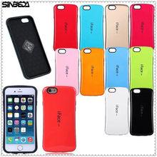 Sinbeda iFace mall Gel для iphone 7 8 Plus X Чехол амортизирующий бампер PC + TPU задняя крышка чехол для iphone 6 6s Plus