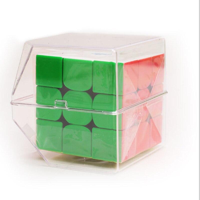 Gan 54 MM longueur compétition éducatif apprentissage 3x3x3 vitesse Puzzle Cube Gan 3x3x3 défi vitesse Puzzle Cube Magico Cubo jouets - 3