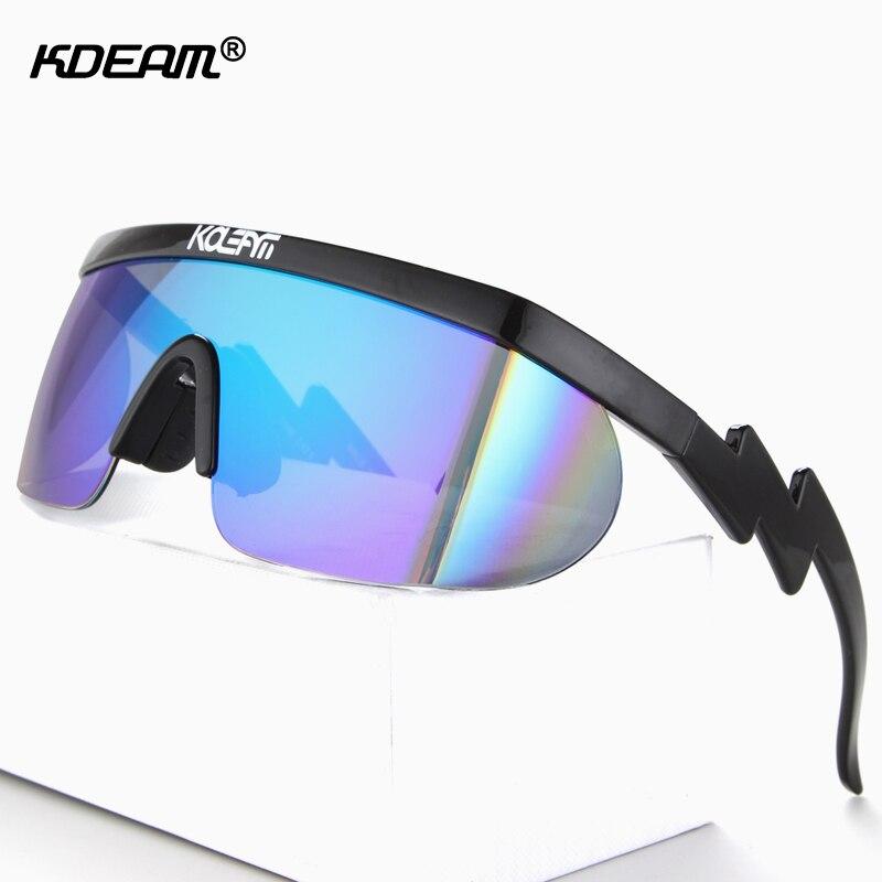 Riff Raff s Shield Sunglasses Men 100 UV Protection Glasses Women Crazy Color Blocking Eyewear Goggles