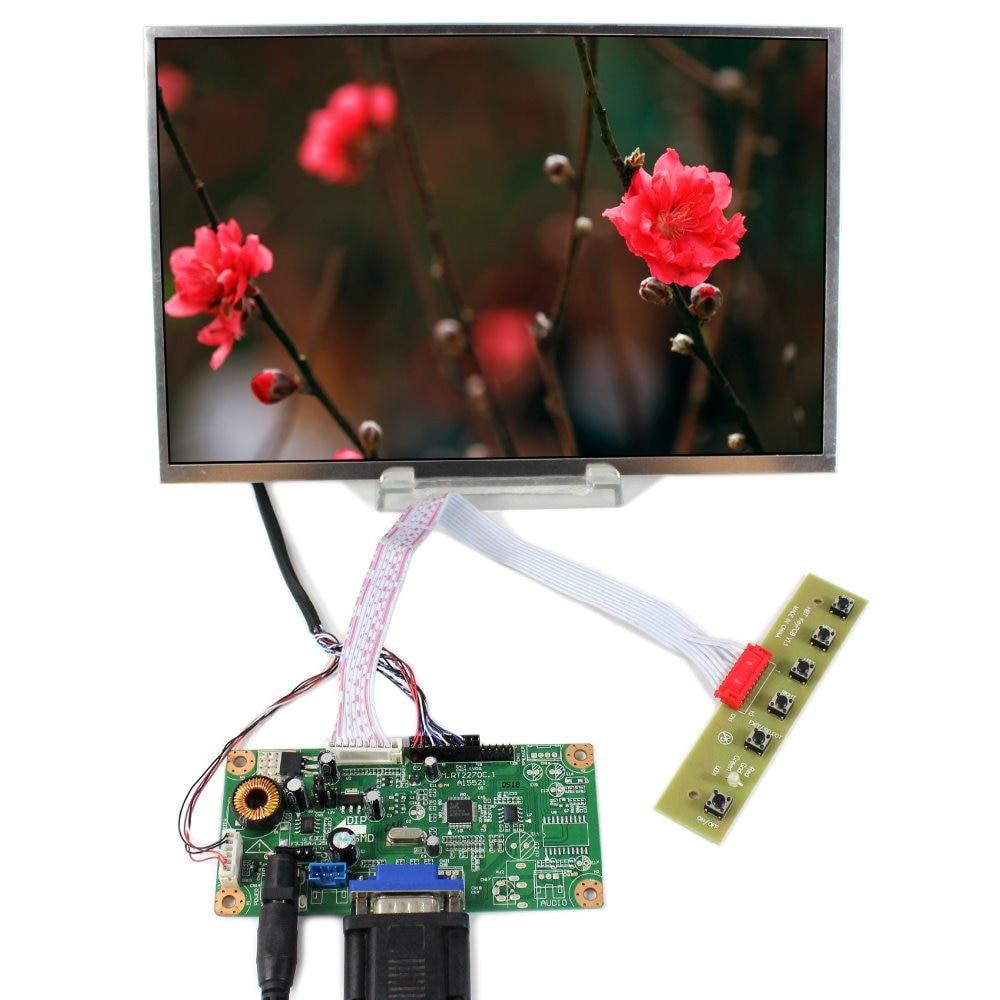VGA LCD Controller Board+10.1B101EW05 1280x800 LCD Screen vga lcd controller board 10 1b101ew05 1280x800 lcd screen