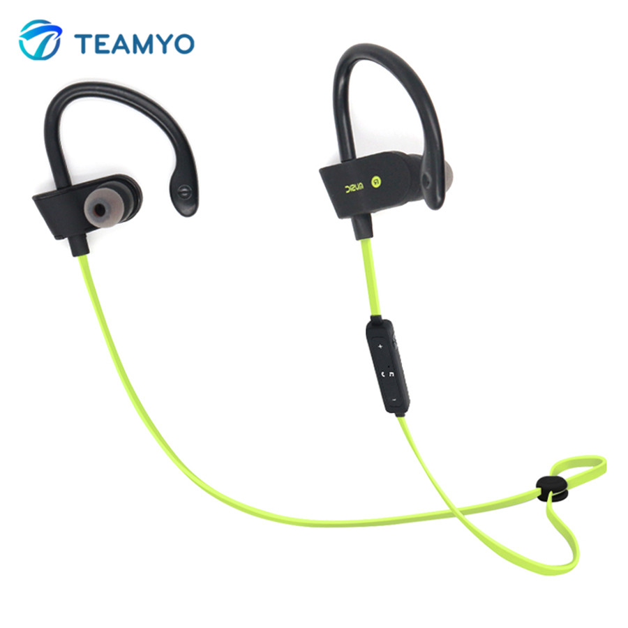 teamyo wireless bluetooth headphones earphone with mic stereo earbuds headset sound quality. Black Bedroom Furniture Sets. Home Design Ideas