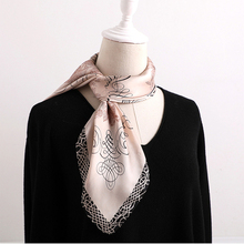 70*70 cm Retro-style printed silk scarf women square satin scarfs  Multi-function all-match neckerchief for lady hair scarves