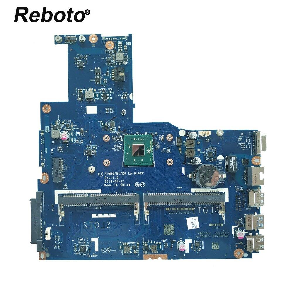 For Lenovo B50 30 Laptop Motherboard ZIWB0 B1 E0 LA B101P With N2840 CPU DDR3L 5B20G90126
