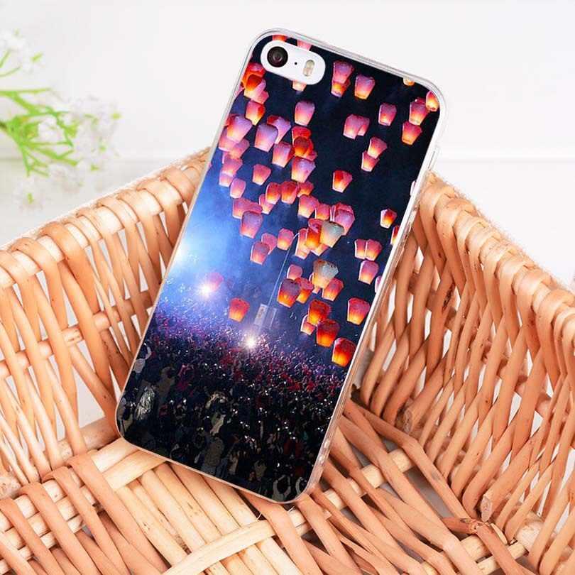 MaiYaCa Sky Фонарь Специальное предложение Роскошный Вертикальный чехол для телефона iPhone 8 7 6 6S Plus X 10 5 5S SE 5C 4 4s Coque Shell