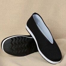 Традиционная китайская обувь в стиле «Старый Пекин»; молодежные боевые искусства Брюса Ли; кунг-фу Тай Чи; обувь для тхэквондо; Тканевая обувь унисекс на резиновой подошве