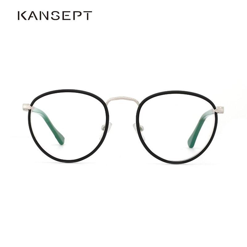 Acetate Women Optical Glasses Frame Vintage Round Clear Lens Stylish Transparent Eyeglasses Frame Women High Quality#OS762
