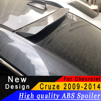 For Chevrolet Cruze 2009 to 2014 roof spoiler High quality ABS primer or any color car roof spoiler for Cruze