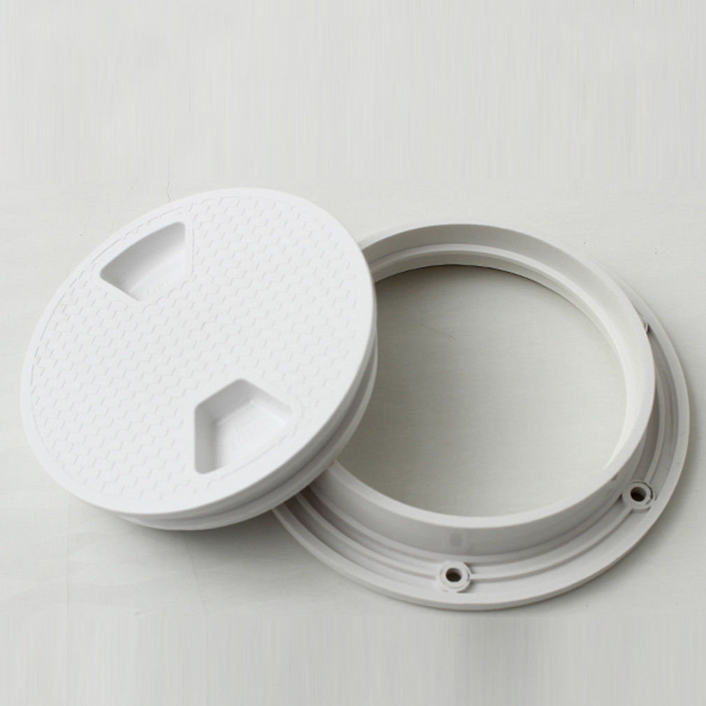 Image 3 - 1pc 6 ABS Plastic Boat Speedboat Anti slip Panel Round Access Hatch Cover NEW-in Marine Hardware from Automobiles & Motorcycles