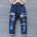 BibiCola new year boys Fashion Pants Long Trousers For Boys Thick Warm Winter Spring Jeans Wool Baby Boys Pants Winter Jeans