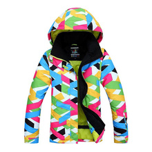 2016 New Womens Ski Suit Winter Sports Outdoor Jacket campera ski impermeable Snowboard Female Snow Wear Ladies Ski Jackets