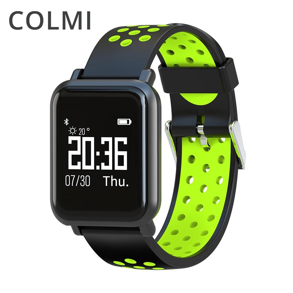 COLMI Smartwatch S9 2.5D OLED Bildschirm Gorilla Glas Blut sauerstoff blutdruck KREMPE IP68 Wasserdicht Aktivität Tracker Smart Uhr