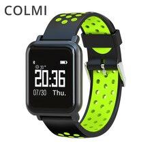 COLMI font b Smartwatch b font S9 2 5D OLED Screen Gorilla Glass Blood oxygen Blood