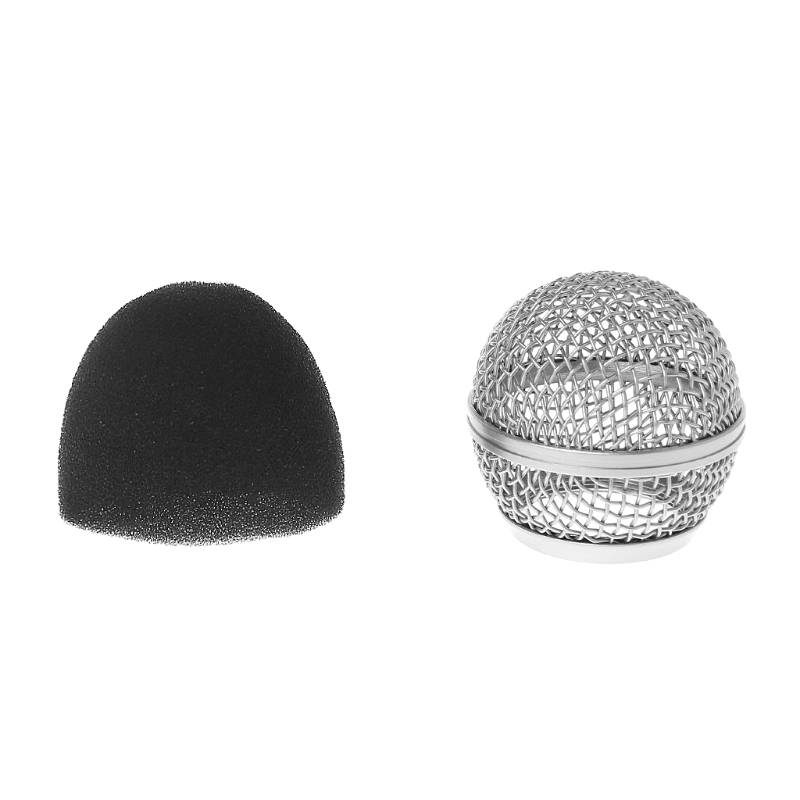 Replacement Ball Head Mesh Microphone Grille For Shure BETA58 BETA58A  for SM58 SM58SReplacement Ball Head Mesh Microphone Grille For Shure BETA58 BETA58A  for SM58 SM58S