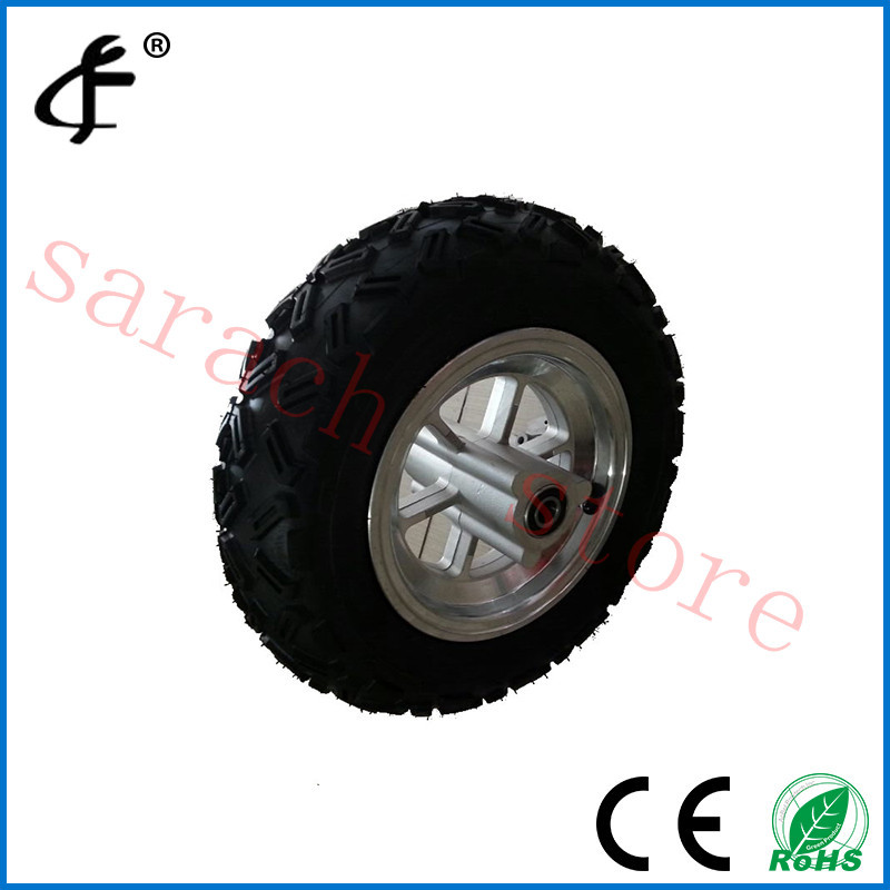 10 vacuum tire electric scooter hub motor wheel , electric bicycle motor front wheel front hub city road lion disc brakes front wheel tire rims