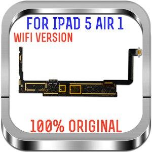 Image 2 - 16 기가 바이트 32 기가 바이트 64 기가 바이트 128 기가 바이트 원래 Ipad 5 로직 보드에 대 한 잠금 해제 IOS 시스템, a1474와 Ipad 공기 1 마더 보드에 대 한 Wifi 버전