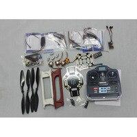 F02192 G JMT RC 4 axle Multi heli Quadcopter UFO ARF Kit: F450 Frame + A2212 Motor + HOBBYWING ESC + CF Pros + 6CH TX RX FS