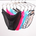 Sexy Plus Size Underwear Satin Panties Women Briefs Nylon Woman Underpants Multiple Patterns S / M / L / XL / XXL Calcinha