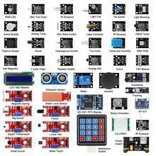 45 ב 1 חיישני מודולים Starter ערכת טוב יותר מ 37 ב 1 חיישן קיט לarduino UNO R3