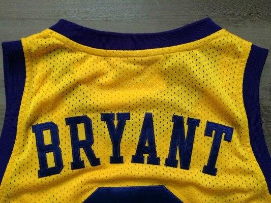 f5a66807853 NWT Minneapolis 8 Kobe Bryant Jersey MPLS Yellow purple Black Light Blue  White Throwback Kobe Bryant