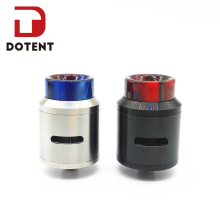 DOTENT 24mm Drop RDA Rebuildable Dripping Atomizer 510 Electronic Cigarette 810 Drip Tip Wide Bore Vaporizer Tank for Vape