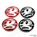 4 PCS 65mm Centro de Roda De Alumínio Auto Adesivo Emblema Emblemas Para Vauxhall Astra AMPERA Zafira Tourer 520 Car Styling acessórios